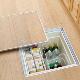 床下収納設置