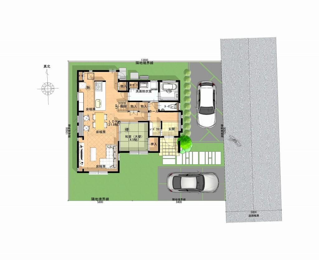 1階 平面図 (4)